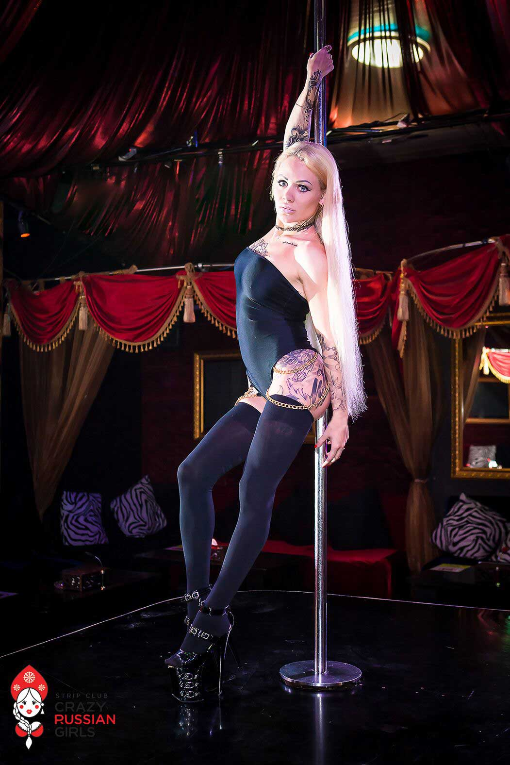 STRIP CLUB Crazy Russian Girls